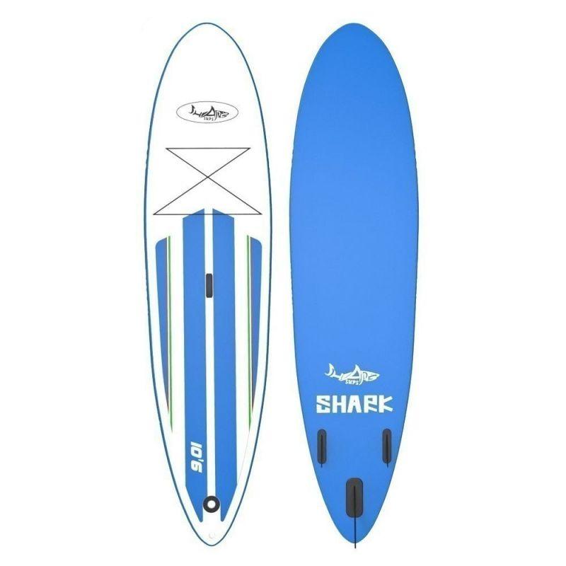 PADDLEBOARD SHARK ALLROUND CROSS 10'6''X30''X6'' - modrá