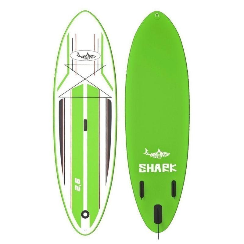 PADDLEBOARD SHARK ALLROUND SURF 9'2''X30''X6'' - zelená