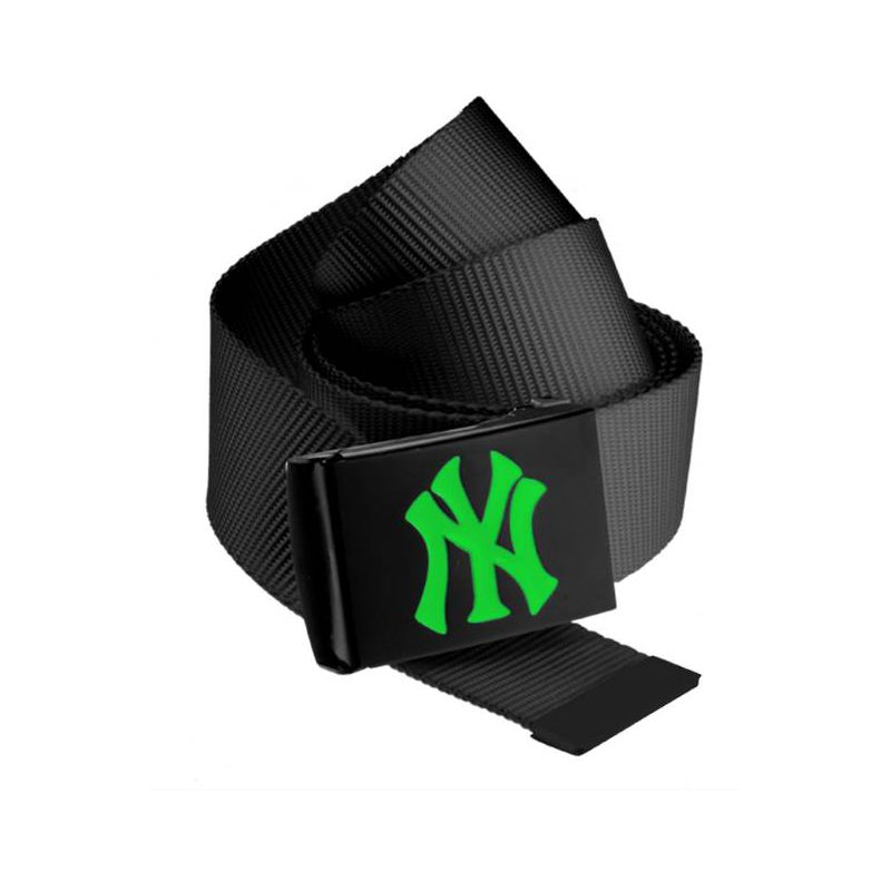 Fotografie PÁSEK MSTRDS MLB Premium Black Woven - černá - 192009