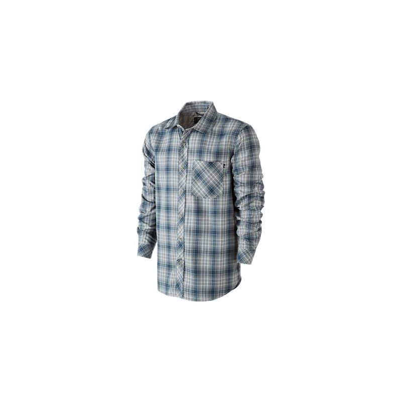 NIKE RALEIGH PLAID FLANNEL KOSILE - bílá (ARM) - XL