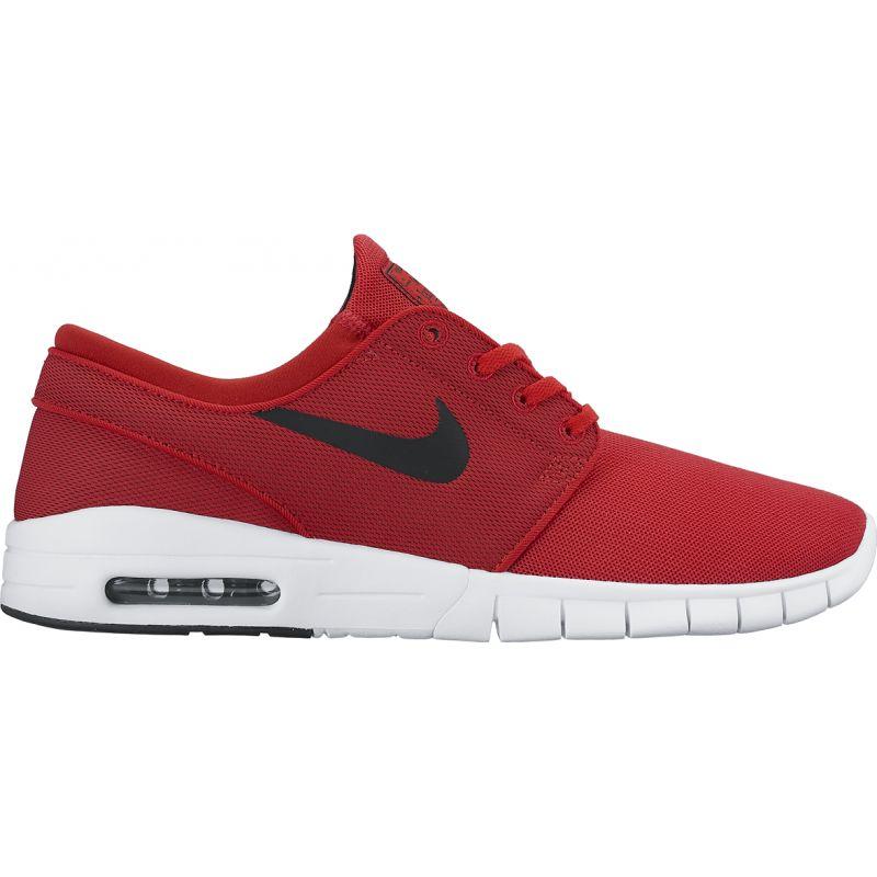 Nike stefan janoski max - červená - US 5.5