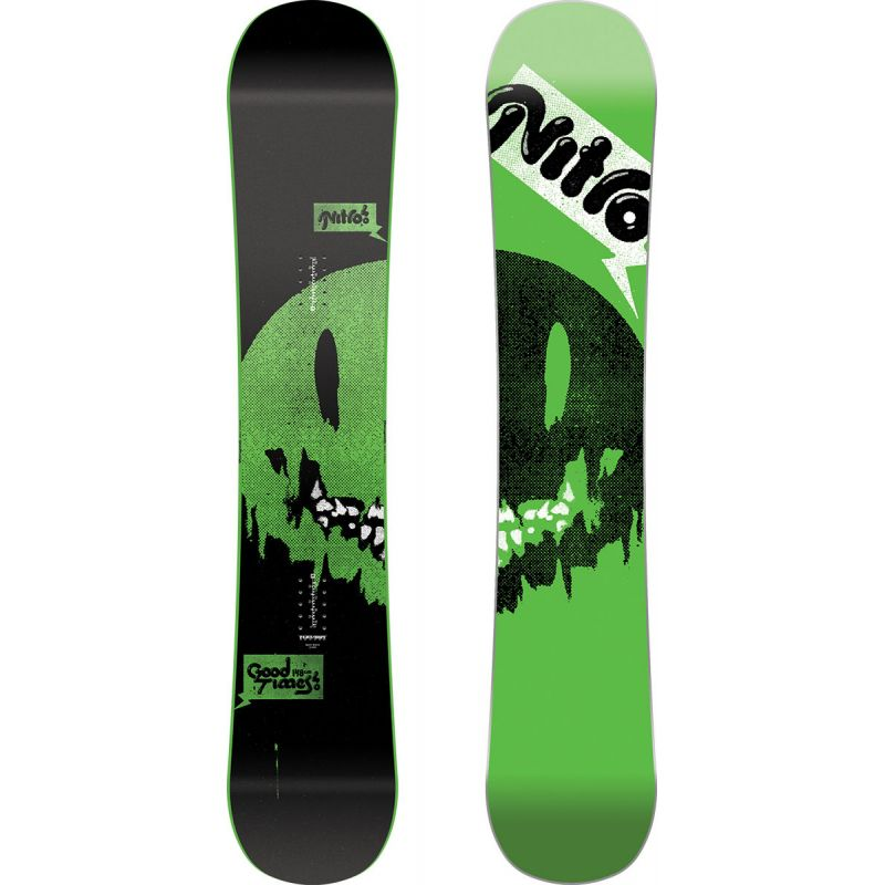 SNOWBOARD NITRO 17 GOOD TIMES - černá - 148