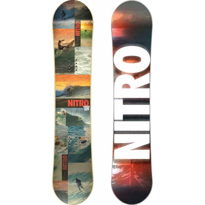 SNOWBOARD NITRO 17 RIPPER YOUTH - oranžová - 137