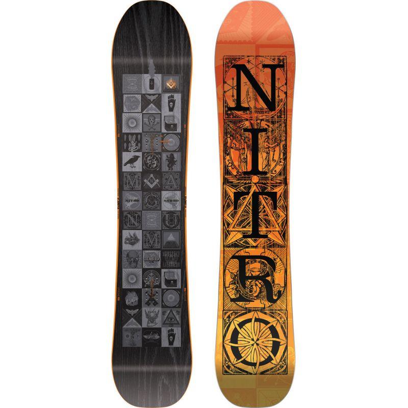 SNOWBOARD NITRO MAGNUM - černá - 159