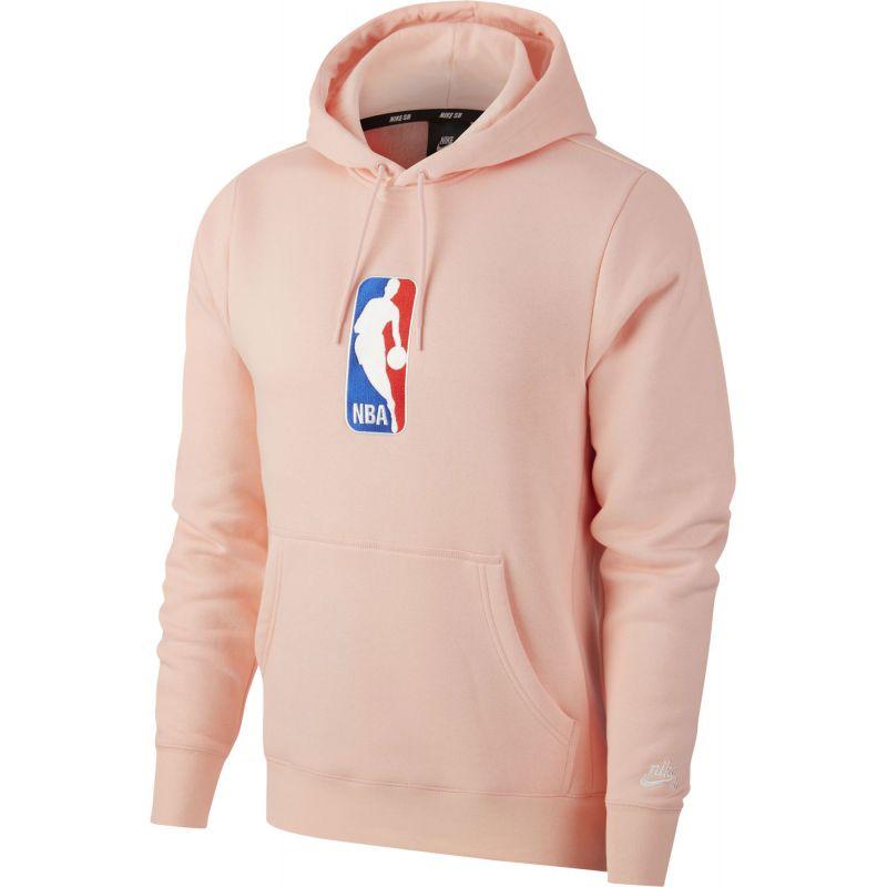 MIKINA NIKE SB X NBA HOODIE ICON - růžová - L 592b68a03e6