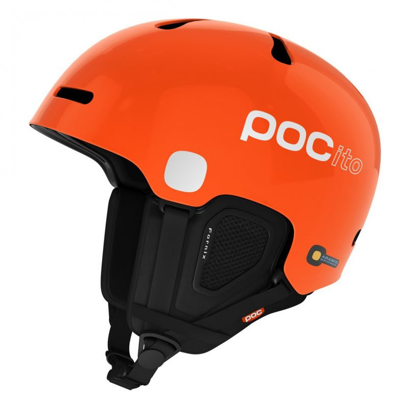 HELMA POC POCITO FORNIX KIDS - oranžová - XS/S