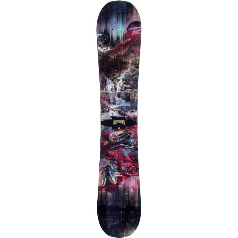 SNOWBOARD ROSSIGNOL ANGUS MAGTEK - černá (160) - 160