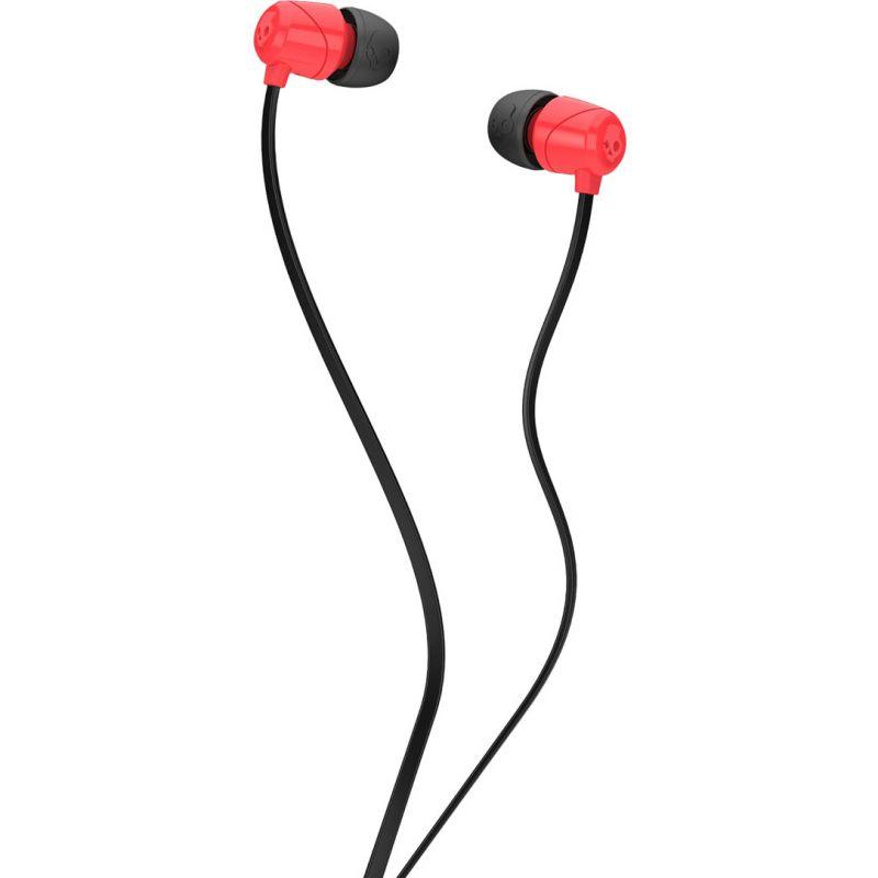 SLUCHÁTKA SKULLCANDY JIB IN EAR W/O - červená (RED-BLK-BL) - univerzální