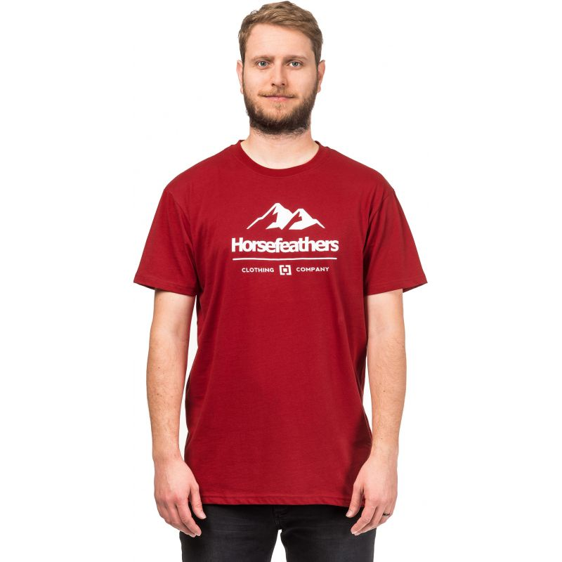 Horsefeathers hills - červená - L