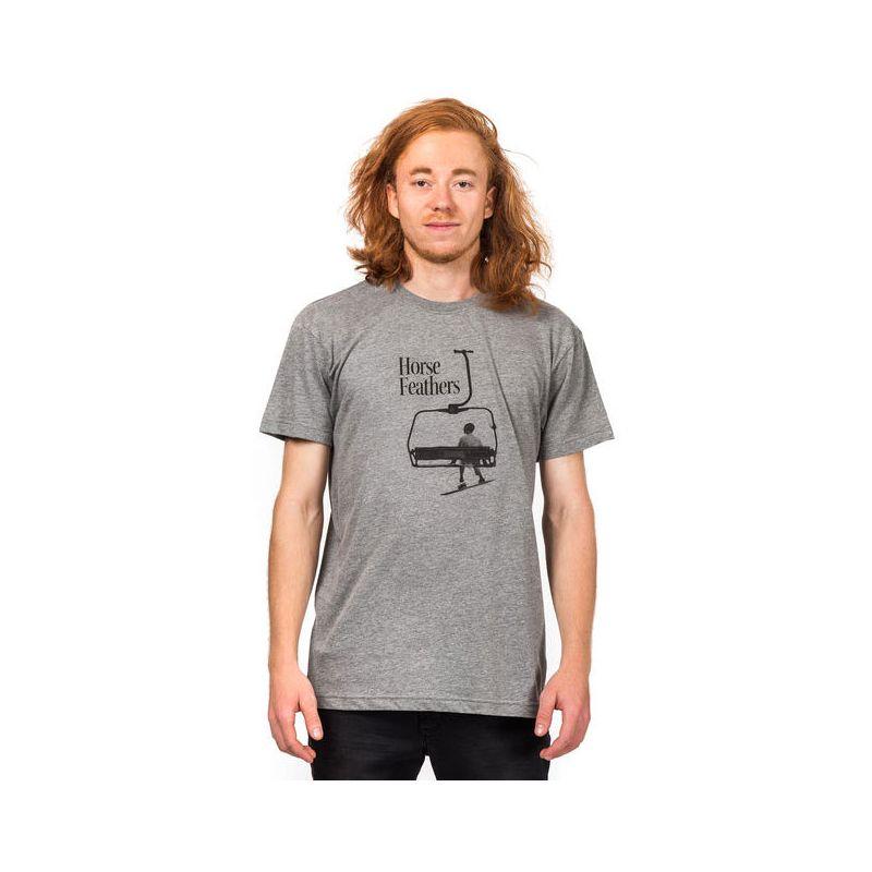 TRIKO HORSEFEATHERS GUMP - šedá - XL