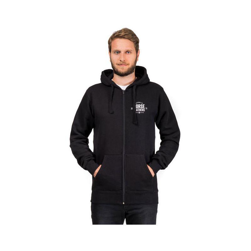 Horsefeathers tribe sweatshirt - černá - XL