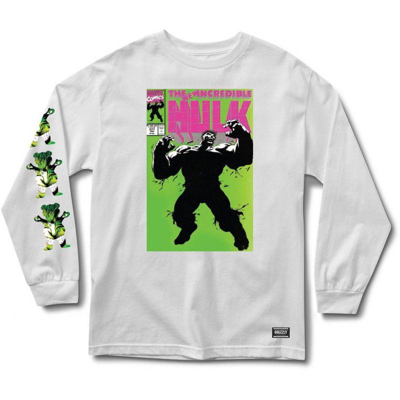 Grizzly grizzly x hulk cover - bílá - L