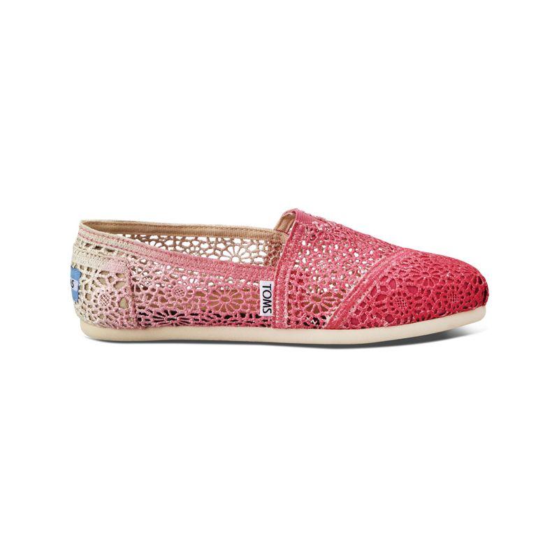 Toms dip-dyed - růžová - EUR 36